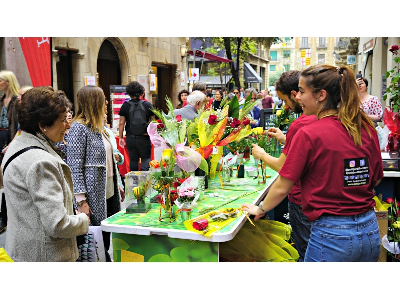 Sant Jordi 2019 in the Ghotic Quarter!