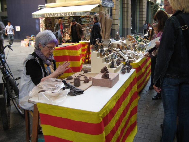 Celebration of retail in the Gothic quarter (1)