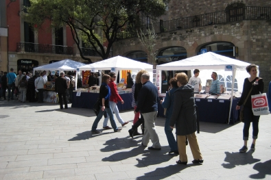 Celebration of retail in the Gothic quarter