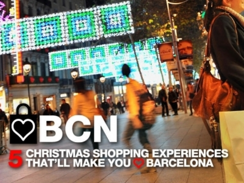 Barcelona is being promoted as a shopping city in 7 countries