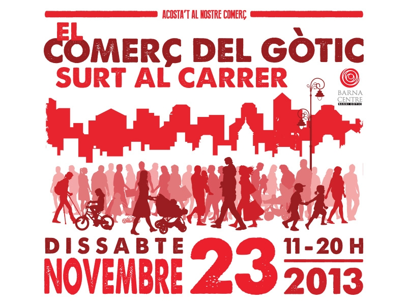 November 23th, a special day in Gothic Quarter