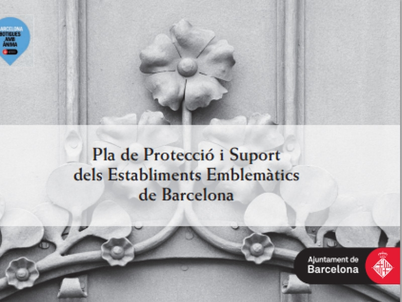 Support and Protection Plan of Barcelona's emblematic establishments