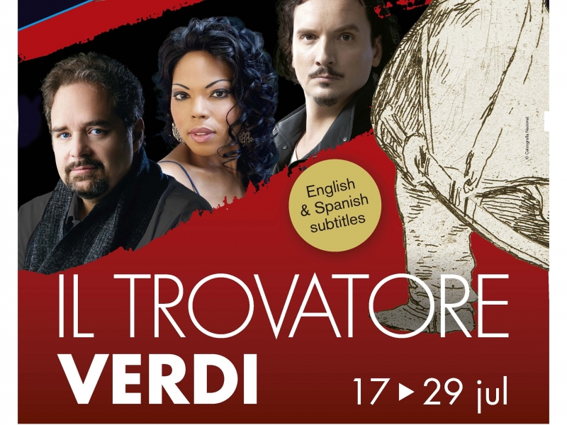 Music near the shops: two free tiquets to the opera