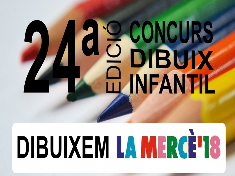 We await your drawings: 24th edition of the Dibuixem la Mercè contest.